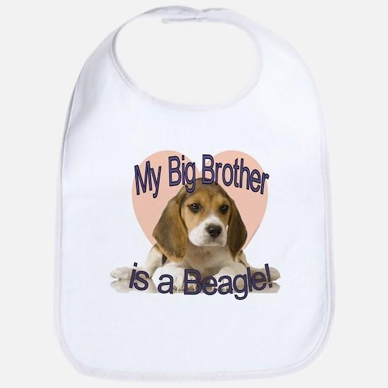 Beagle Brother Bib
