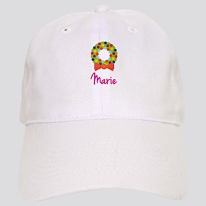 Christmas Wreath Marie Cap