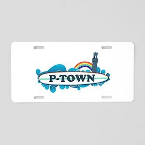 Provincetown MA - Surf Design. Aluminum License Pl