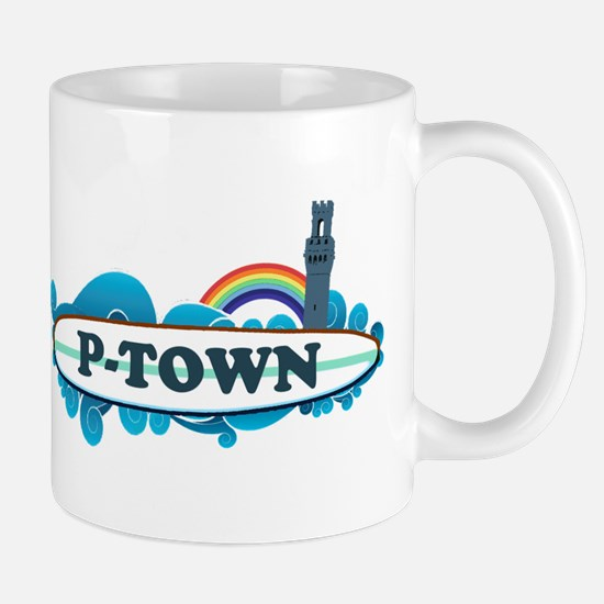 Provincetown MA - Surf Design. Mug