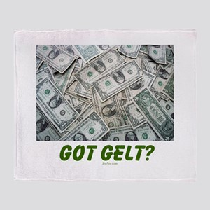 Got Gelt? Jewish Throw Blanket