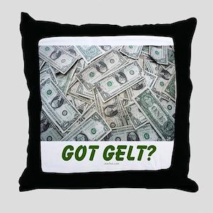 Got Gelt? Jewish Throw Pillow