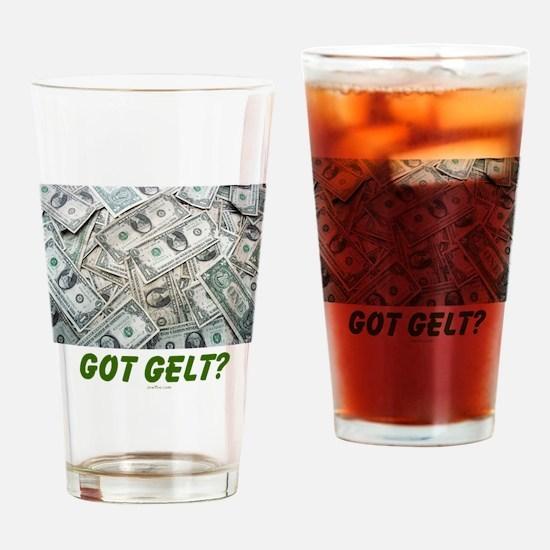 Got Gelt? Jewish Drinking Glass