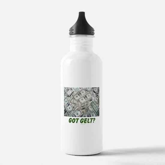 Got Gelt? Jewish Water Bottle