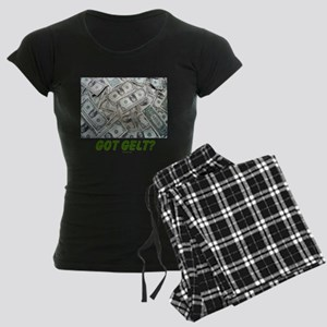 Got Gelt? Jewish Women's Dark Pajamas