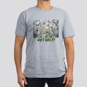 Got Gelt? Jewish Men's Fitted T-Shirt (dark)