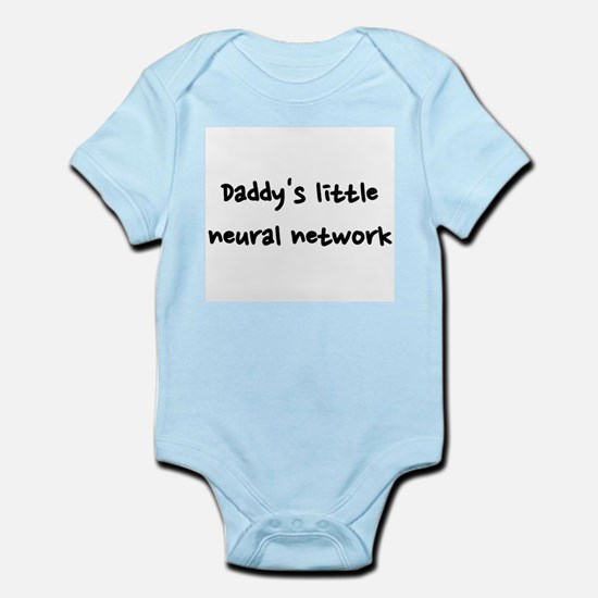 Daddy's little neural network Infant Bodysuit