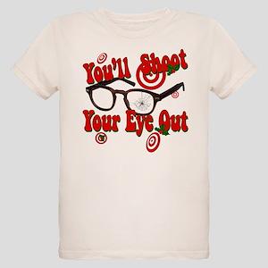 You'll shoot your eye out! Organic Kids T-Shirt