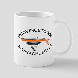 Provincetown MA - Whale Design. Mug
