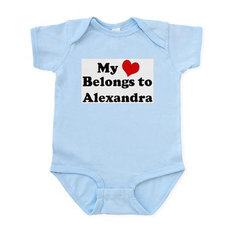 My Heart: Alexandra Infant Creeper
