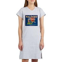 Waldorf Apples Women's Nightshirt