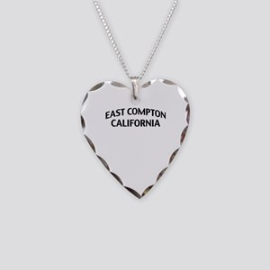 East Compton California Necklace Heart Charm