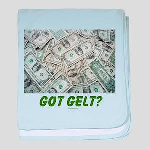 Got Gelt? Jewish baby blanket