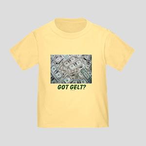 Got Gelt? Jewish Toddler T-Shirt