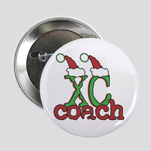 "XC Holiday Cross Country Coach 2.25"" Button"