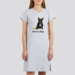 French Bulldog Life Women's Nightshirt