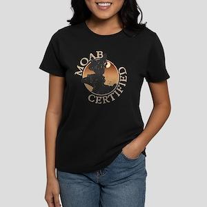 Moab Ceritfied - Girl Climber Women's Dark T-Shirt