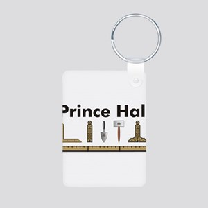 Prince Hall Mason No. 2 Aluminum Photo Keychain