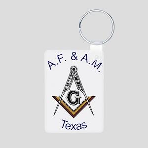 Texas S&C Aluminum Photo Keychain