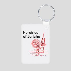 Heroines of Jericho Aluminum Photo Keychain