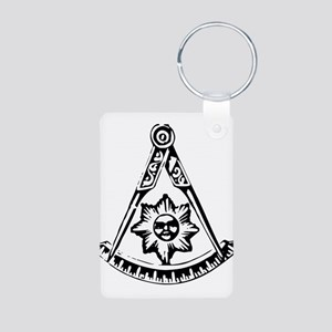 Past Master's Aluminum Photo Keychain