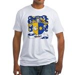 Weber Coat of Arms Fitted T-Shirt