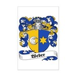 Weber Coat of Arms Mini Poster Print