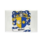 Weber Coat of Arms Rectangle Magnet (10 pack)