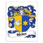 Weber Coat of Arms Small Poster