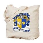 Weber Coat of Arms Tote Bag