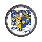 Weber Coat of Arms Wall Clock