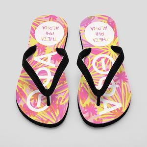 Theta Phi Alpha Flip Flops