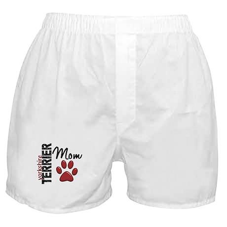 Yorkshire Terrier Mom 2 Boxer Shorts