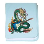 DragonGuitar(S) baby blanket
