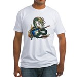DragonGuitar(S) Fitted T-Shirt