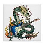 DragonGuitar(S) Tile Coaster