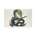 DragonGuitar(S) Rectangle Magnet (100 pack)