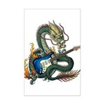 DragonGuitar(S) Mini Poster Print