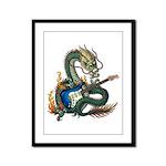 DragonGuitar(S) Framed Panel Print