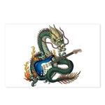 DragonGuitar(S) Postcards (Package of 8)