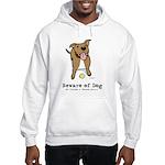 Beware of Dog Hooded Sweatshirt