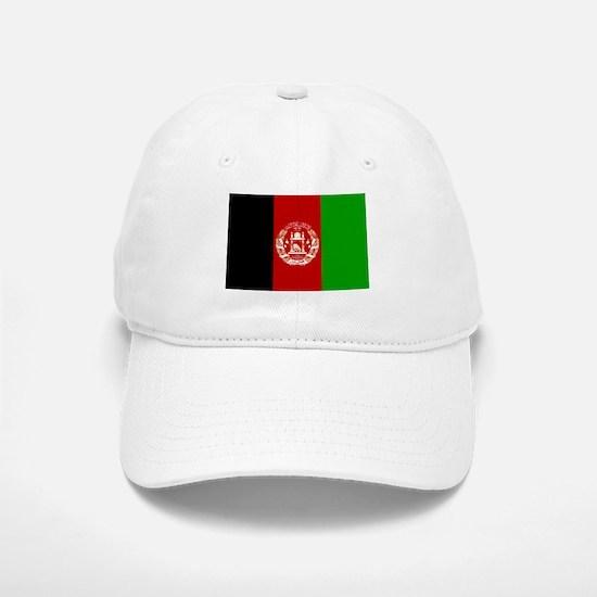 Flag of Afghanistan Baseball Baseball Cap
