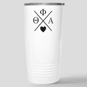 Theta Phi Alpha 16 oz Stainless Steel Travel Mug