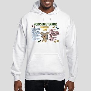 Yorkshire Terrier Property Laws 4 Hooded Sweatshir