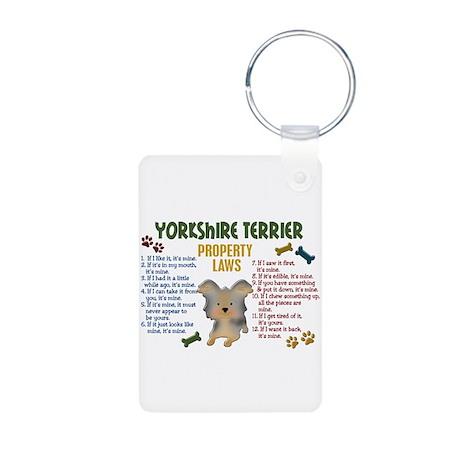Yorkshire Terrier Property Laws 4 Aluminum Photo K