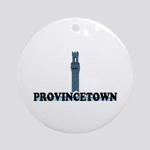 Provincetown MA - Lighthouse Design. Ornament (Rou