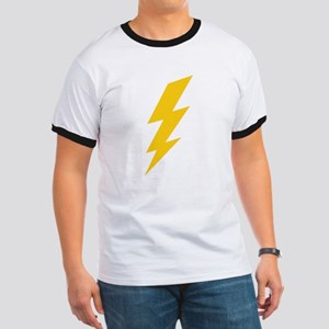 Yellow Thunderbolt Ringer T
