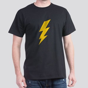 Yellow Thunderbolt Dark T-Shirt