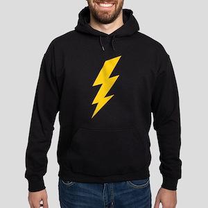 Yellow Thunderbolt Hoodie (dark)