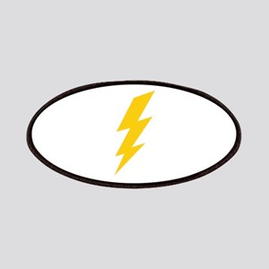 Yellow Thunderbolt Patches